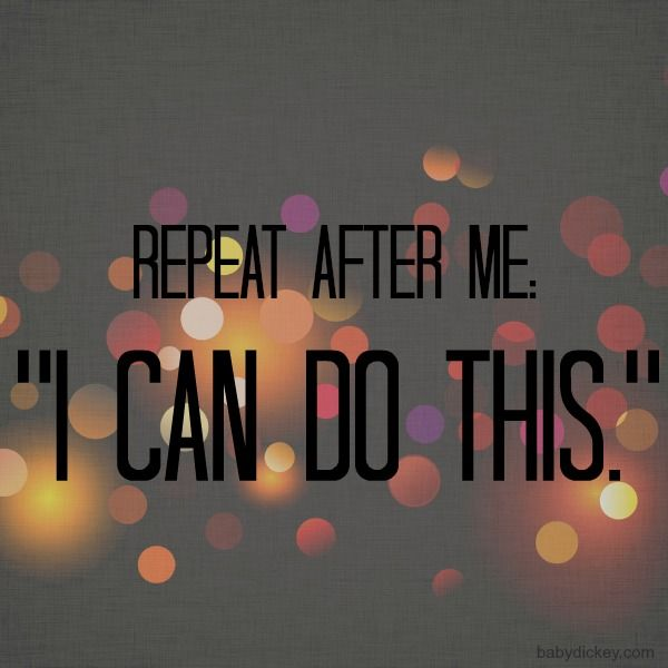 I Can Do This quote