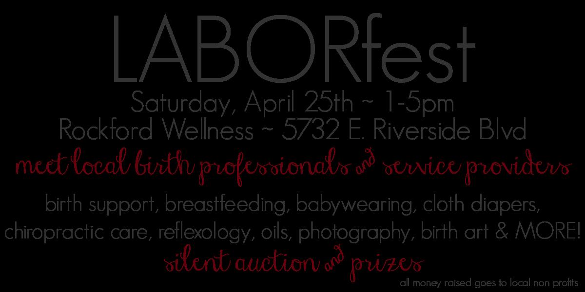 LABORfest info